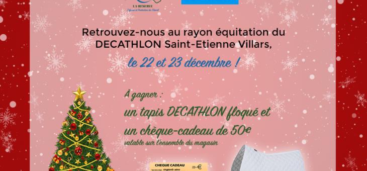 Tombola Solidaire de Noël les 22 et 23 décembre à DECAHTLON Villars