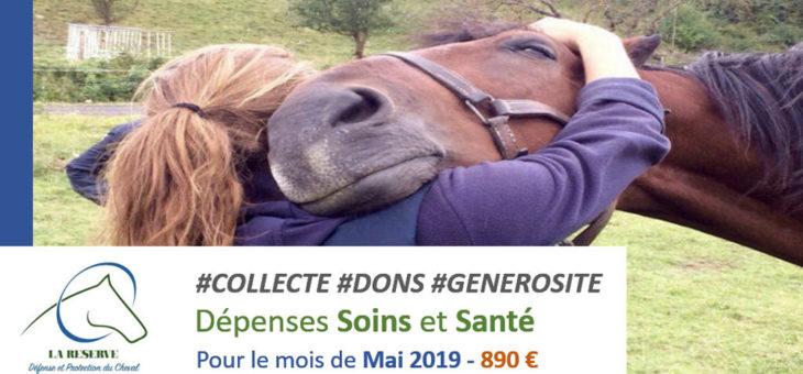 Collecte Soins et Sante Mai 2019 pour La-Reserve